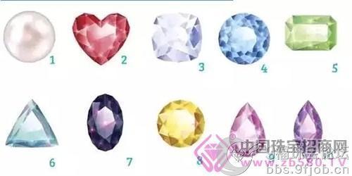 选择你最爱的一颗宝石,测试你的性格~