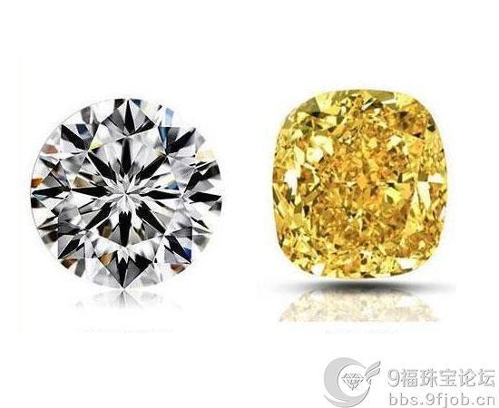 黄钻与白钻哪个好?黄钻和白钻哪个更保值?