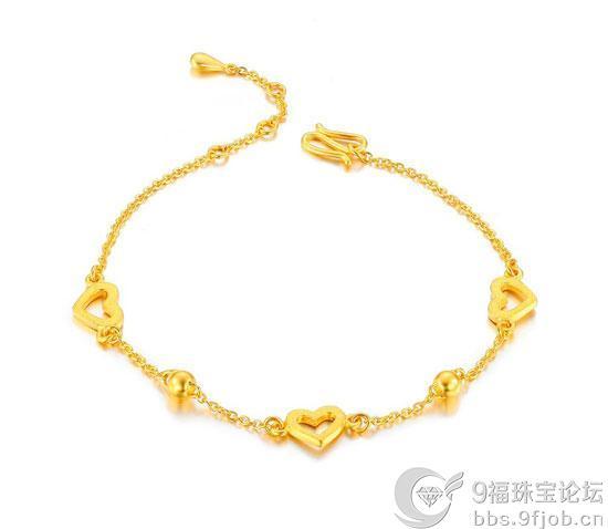女士黄金手链选购以多重为好?